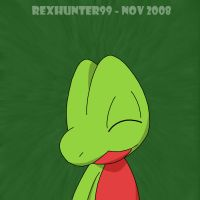 RexHunter, Treecko joy by Cool---Breeze