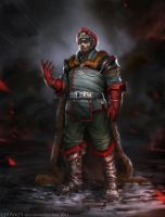Red General by Verehin