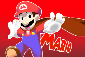 Quick Draw - Mario by CaptainAcelot