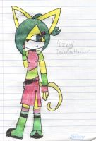 Contest Entry: Izzy the Cat by Luke-Hotfoot-t-Fox