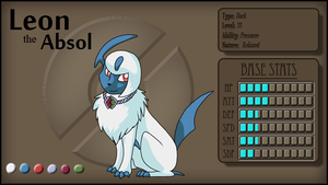 Leon the Absol by PancakeShiners