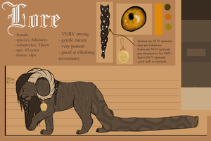 Lore by CaledonCat