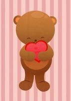 Bear Hug Card by elicoronel16