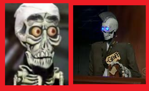 Achmed the terroist VS. Geoff Peterson by beatlemaniac420