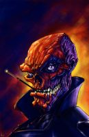 THE RED SKULL by QuinteroART