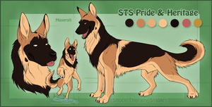 STS Dog - Maseratti by ShockTherapyStables