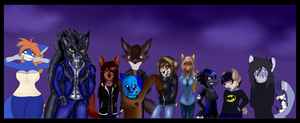 Completed Collab~ by ScottishRedWolf