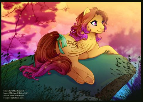 MustbeJewel's Sunset by frisket17
