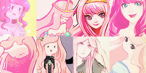 100 Princess Bubblegum Icons by ToxxicLovve