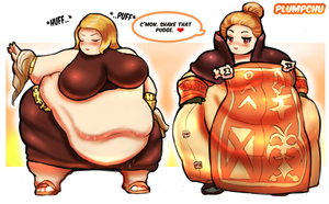 The Belly Dancer - Final Fantasy Tictacs WG by Plumpchu