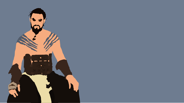 Khal Drogo from Game of Thrones by Reverendtundra