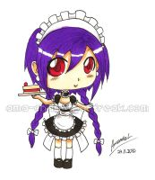 Chibi Maid by aaamaaa