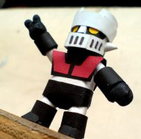 Mazinger proto by PaperBot