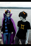 HOMESTUCK: Lakeside by PrinceKarakuri