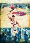 Kristaps Porzingis '6 God' by rhurst