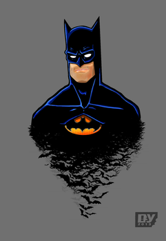 Batman vector ver.2 by hannibal870
