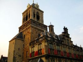 Delft Town Hall by Jaanos