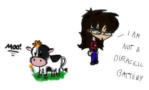 Cow goes Moo ... by xcrystalclearx