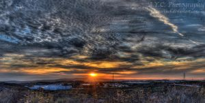Trabuco Canyon Sunset II by pacmangeek
