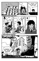 The Escape Key P.1 Grayscale by Daystorm