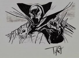Spawn Scanned after Original Artist by SoulRipper85