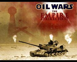 Oil Wars Wallpaper by AfxTwin
