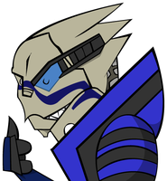 That Turian Rebel by Zombaholic