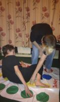 Playing Twister with the Family 3 by demon1993