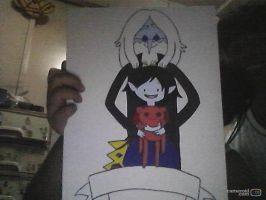 Simon and Marcy WIP by anime-lover05