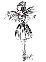 Odile by katidoodlesmuch