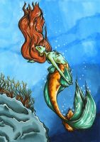 To The Ocean She Succumbs. by Yaraffinity