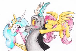 Forceful Fluttershy by St0oiE