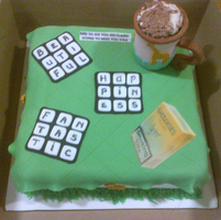 Crossword Puzzle With Edible Mug by Lucrecia1511