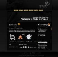 Media Movement website by theideafield