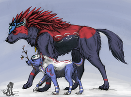 Secret Okami for Fell-BlackHeart by PilafiaMadness