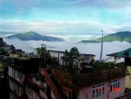 Gangtok Hotel View by smeetrules