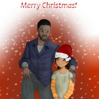 Lee and Clem - Merry Christmas by Crazyb2000