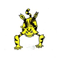 Electabuzz by Hunchdebunch