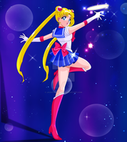 SAILOR MOON CLASSIC - Moon Tiara Action! by JackoWcastillo