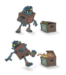 Box lovers by sparrowbirdd