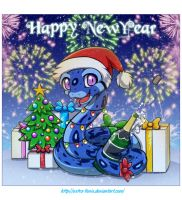 Merry Christmas and Happy New Year by Extra-Fenix