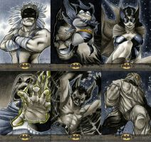 Batman: The Legend Sketch Cards 03 by RichardCox
