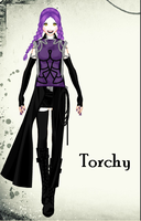 Torchy in human form by BlackCherry1994