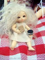 Neiva and the biscuits by Dynamene-Dolls