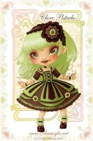 Ice Cream Lolita ChocoPistache by Nailyce