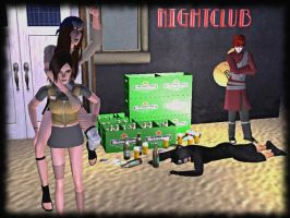 Are you drunk...? - The Sims 2 by CSItaly