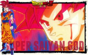 A new height!, the God of the Saiyans! by fogdark
