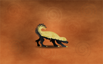 Gaia - Tribal Honey Badger by Golden-Ribbon