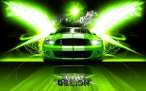 Shelby GT500 Mustang Wallpaper by Zero1122