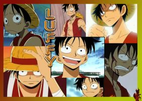 Luffy Wallpaper by SirCrocodile
